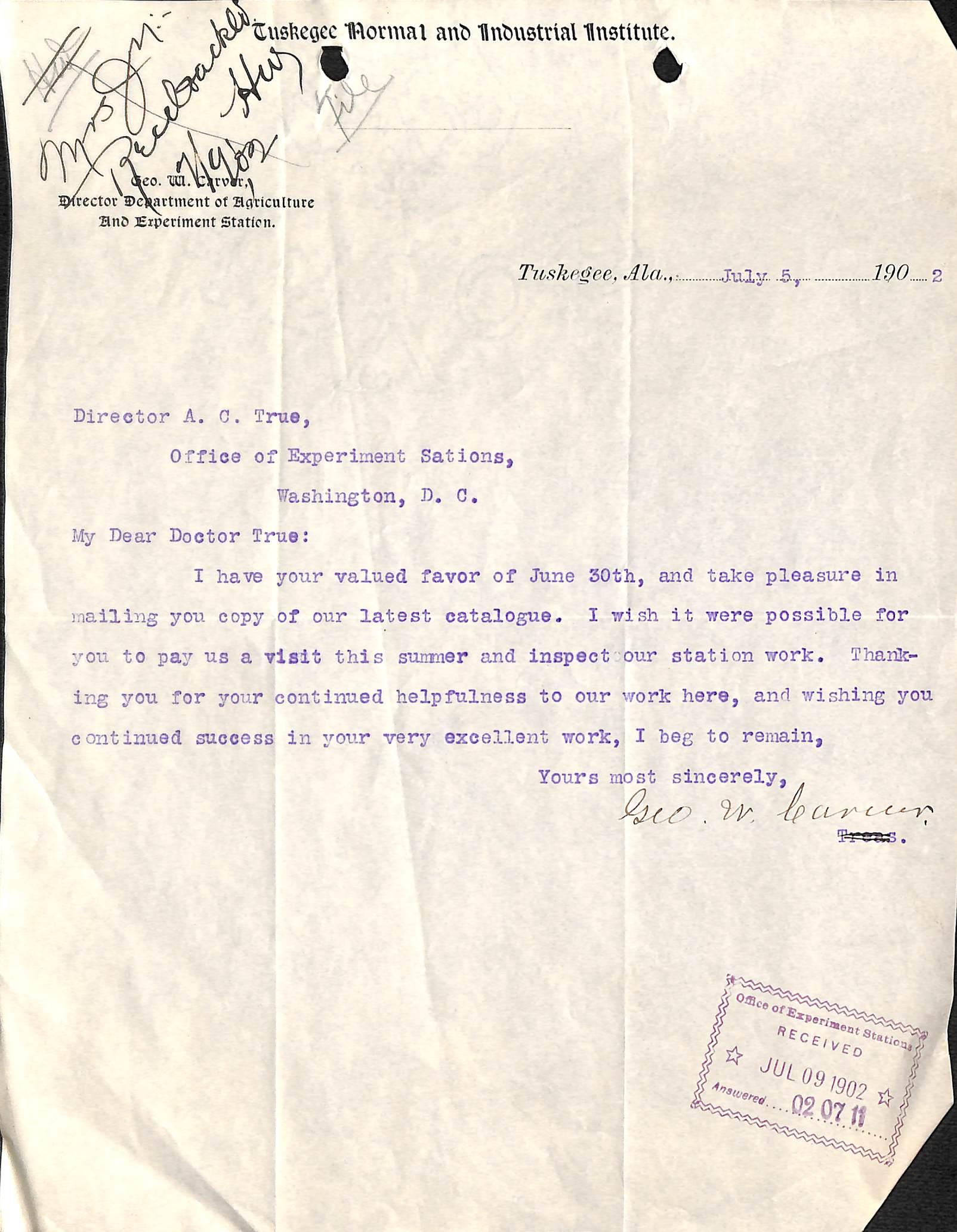 George Washington Carver Essay Outline