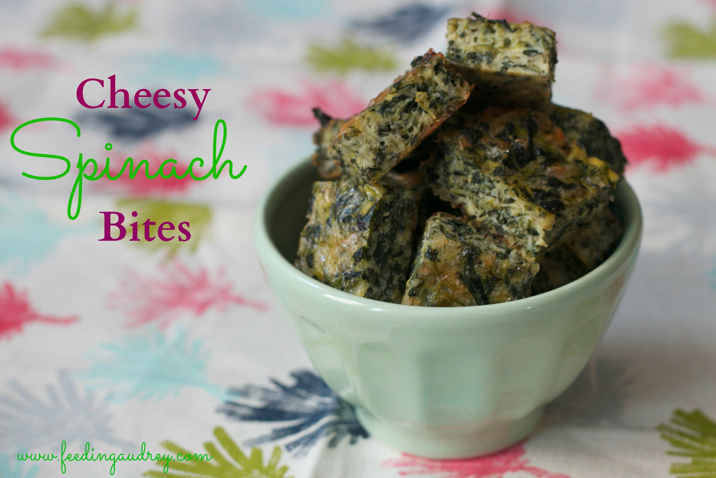 Guest Recipe  Cheesy Spinach Bites   Red Kitchenette Spinach Bites 3