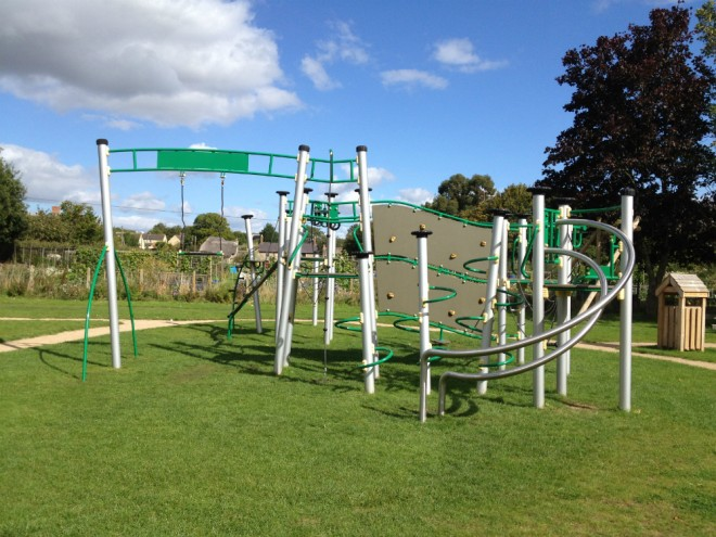 Tackley, playpark, playground