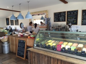 milk shed, oxfordshire, ice cream, kids, eating out