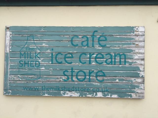 Milk shed board