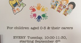 baby and toddler group, little acorns, kidlington
