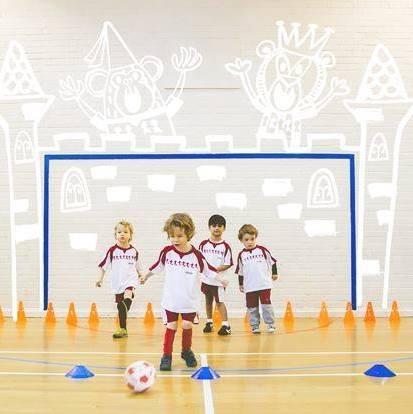 little kickers, football class, kids, oxfordshire