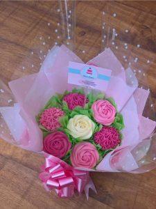 cupcake bouquet, cupcake maker oxfordshire, homemade cakes oxford, birthday cakes oxford, party cakes oxford