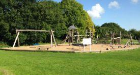upton playground, best playground in oxfordshire, top playgrounds oxfordshire, upton village hall, pump track upton, bike rides kids oxfordshire