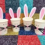 easter bunny, easter craft, kids easter craft, cheap easter craft, easter basket