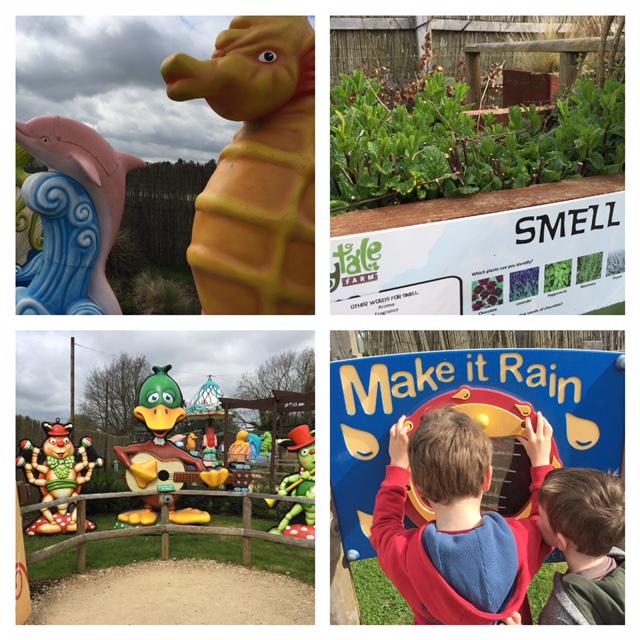 fairytale farm, chipping norton, review, sensory garden, disabled children oxfordshire