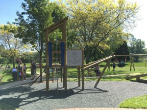 abbey meadows playground abingdon, new playground abingdon, best playgrounds oxfordshire, kids playground abingdon, abbey meadows playground review