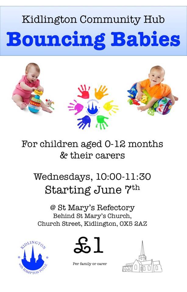 baby group, bouncing babies kidlington, kidlington, meet new mums in kidlington