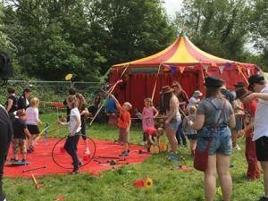 lechlade festival, jitterbug circus, family friendly music festivals 2018