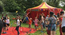 lechlade festival, jitterbug circus, family friendly music festivals 2018