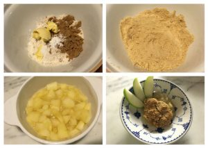 easy apple crumble, how to make apple crumble, kids apple crumble, apple crumble recipe for kids