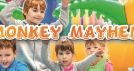 monkey mayhem didcot, soft play didcot, bouncy castle didcot