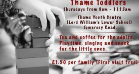 thame toddlers, thame toddler group, thursday toddler groups in thame, stay and play thame