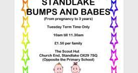 standlake bumps and babes, standlake baby group
