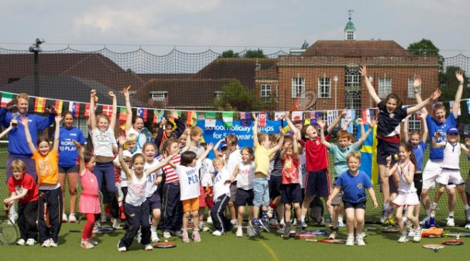 premier tennis kids holiday camp, tennis camp oxfordshire