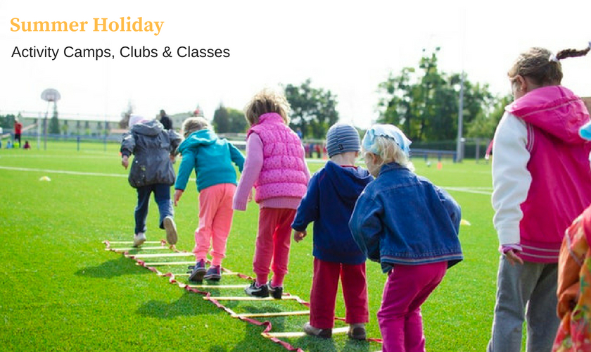 holiday camps, holiday clubs, school holiday childcare near me