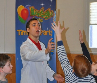 childrens science parties