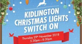 kidlington christmas lights switch on, kidlington lights, whats on for kids Kidlington, christmas even