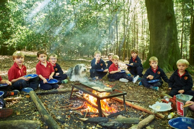 forest school oxfordshire, private primary school south oxfordshire, Moulsford forest school, outdoor education oxford