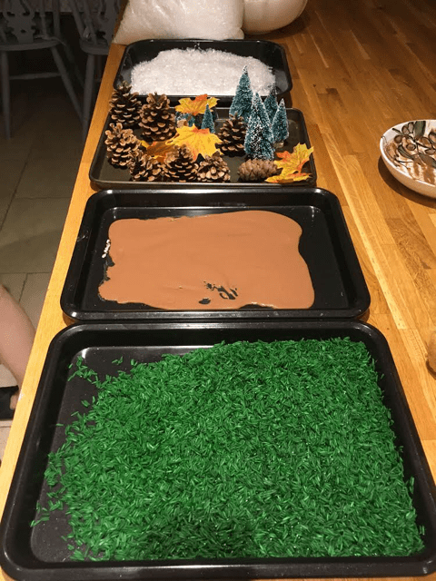 story book sensory play for toddlers