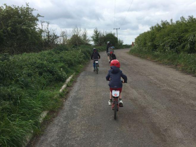 waddesdon greenway, family bike ride, family cycle buckinghamshire