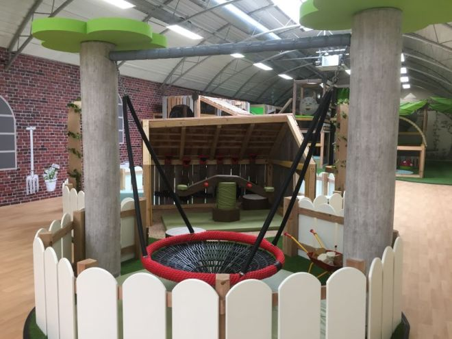 yanrton soft play review, yarnton garden centre soft play opening