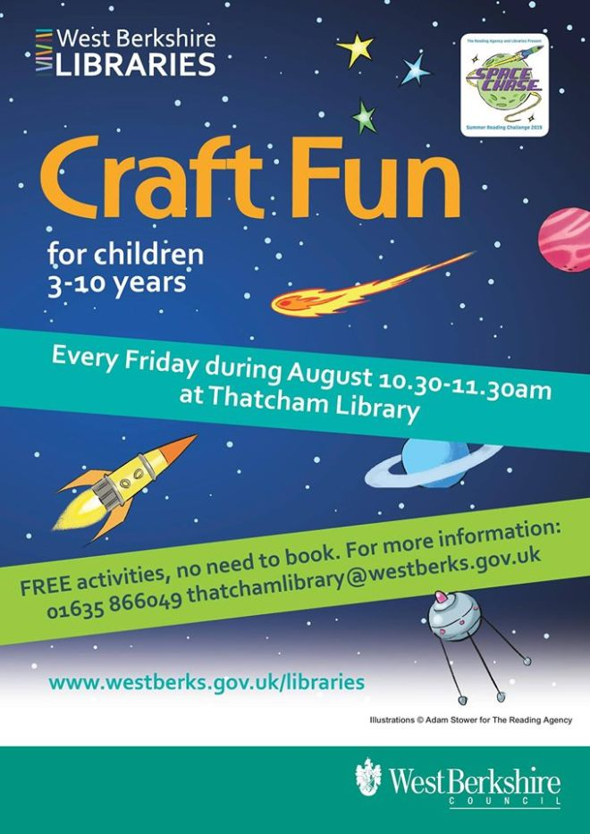 thatcham library events