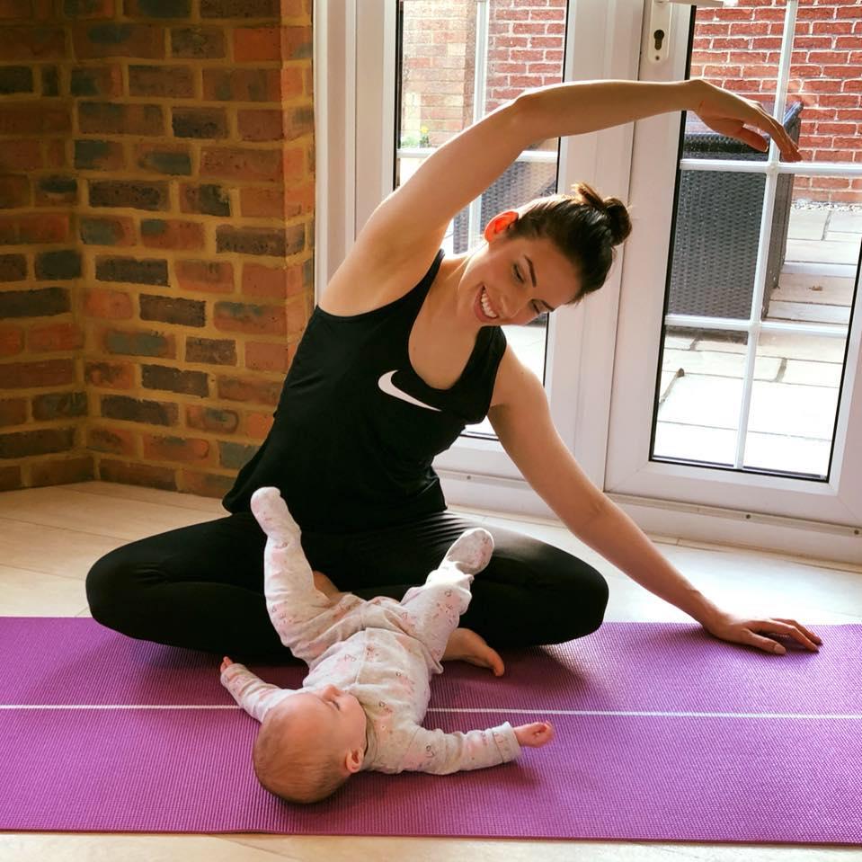 postnatal pilates class Hurst