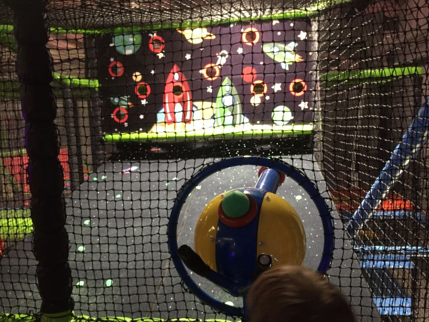 soft play High Wycombe, Rush trampoline soft play