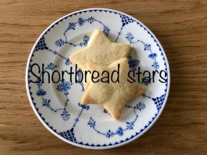Shortbread Stars Recipe Red Kite Days