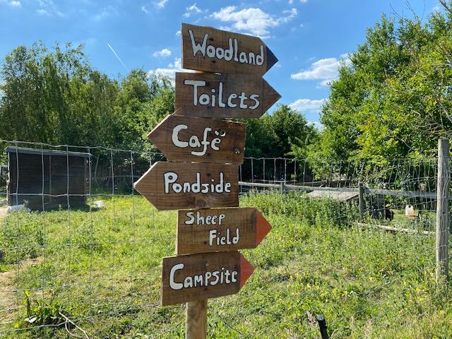 Family campsite Oxfordshire, eco campsite Oxfordshire