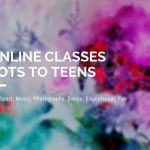 online toddler classes, online teenager classes, what classes for kids