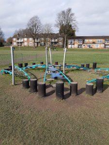play area splash park