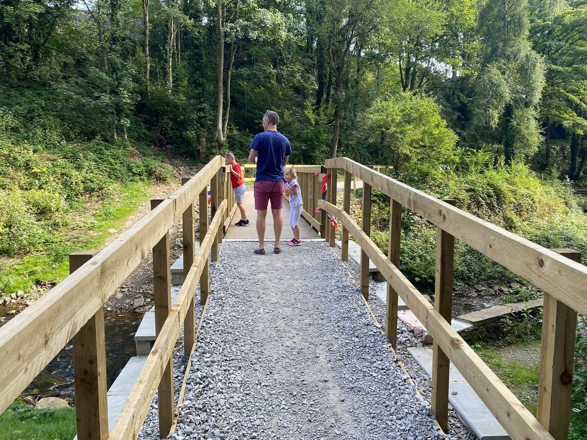 Millennium Walkway New Mills, best family walk peak district, family days out north west, cheshire family blogger