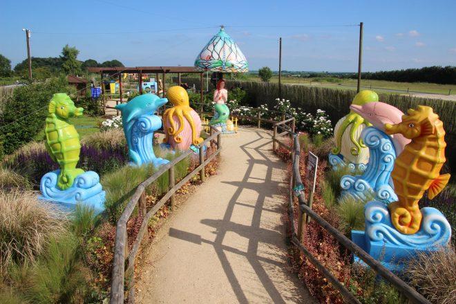 fairytale farm, mermaid at fairytale farm, best toddler places to visit oxfordshire