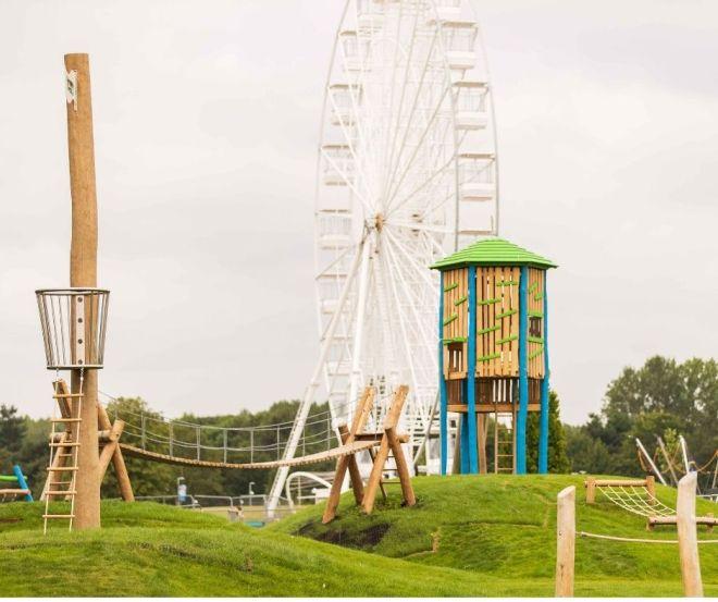 willen lake playpark best playground Milton keynes