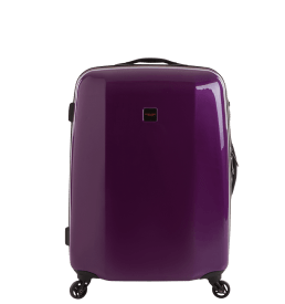 60TWO Purple Hard Luggage