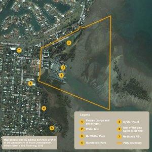Toondah Harbour PDA area
