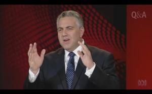 Joe Hockey on ABC QandA