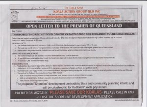 KAG open letter as a newspaper advertisement (click to enlarge)