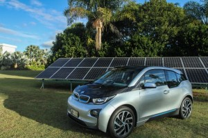 BMWi3 electric car