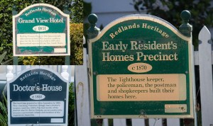 Only one of these three properties has heritage protection