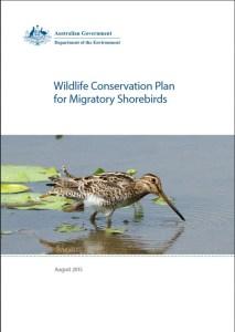 Wildlife Conservation Plan for Migratory Shirebirds