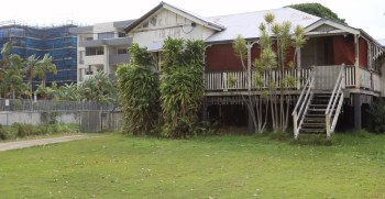 The old Queenslander is for sale