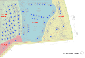 The Lakes staging plan