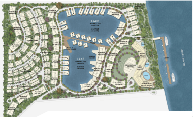 """A major """"urban development on the banks (and the jetty will be in) the Logan River"""