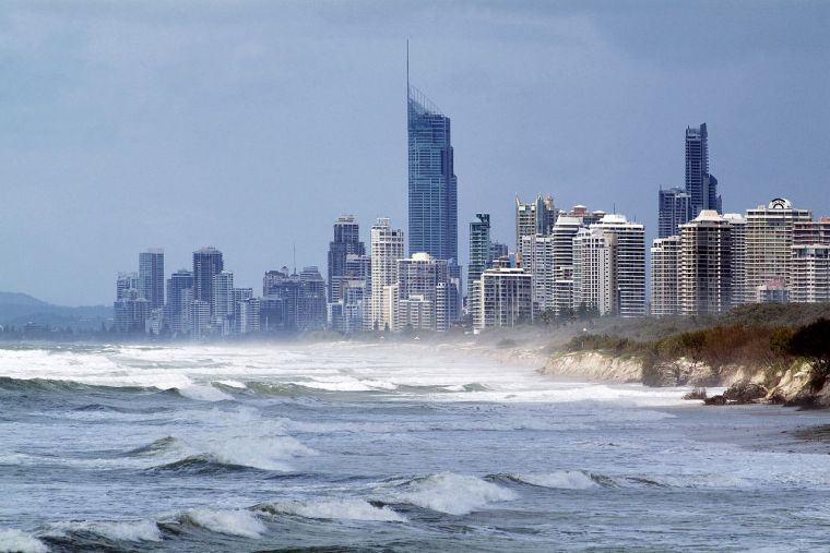 Climate change could result in larger storm surges Photo: CSIRO