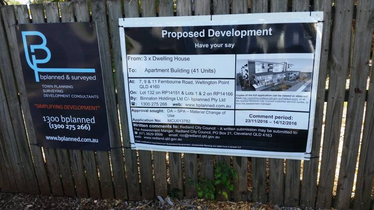 Public consultation about a development application in Fernbourne Road Wellington Point closes soon