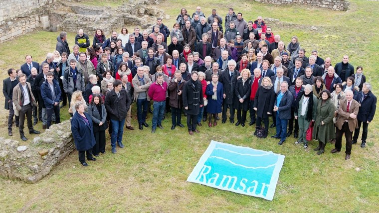 World Wetlands Day coordinated by the Ramsar Secretariat is Launched in Brouage France - Credit: Ramsar Convention © Thierry Degen - DREAL Nouvelle-Aquitaine Horizontal